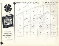 Carp Lake T51N-R43W, Ontonagon County 1959